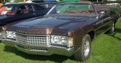 1971 Chevrolet Impala convertible