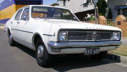 1969–1970 Holden HT Kingswood sedan.