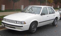1988-1990 Chevrolet Cavalier sedan