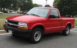 1998-2004 Chevrolet S-10 regular cab