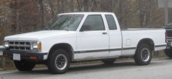 1991-1993 Chevrolet S-10 extended cab